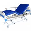 KTB 0153  เตียงผู้ป่วย 3 ไกร์ไฟฟ้าราวสไลด์พร้อมรีโมทแบบมีสาย