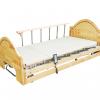 KTB 0171  เตียงผู้ป่วย 3 ไกร์ไฟฟ้าแบบไม้  Luxury Design